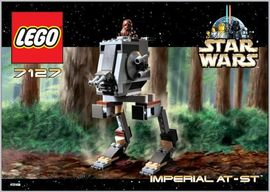 Set 7127 - Star Wars: Imperial AT-ST- Nieuw