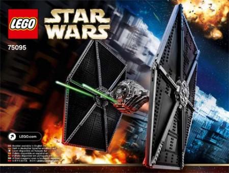 Set 75095 BOUWBESCHRIJVING- TIE fighter UCS Star Wars NIEUW loc