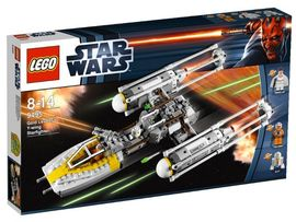 Set 9495 - Star Wars: Gold Leader's Y-wing Starfighter- Nieuw