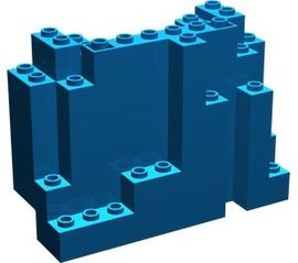 6082-7G Rechthoekig rotsstuk (BURP) LET OP: Kan niet door brievenbus, pakketzending blauw gebruikt *5D0000