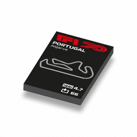 CUS1055 Formule 1 circuit Portugal- Algarve wit NIEUW loc Motorsport