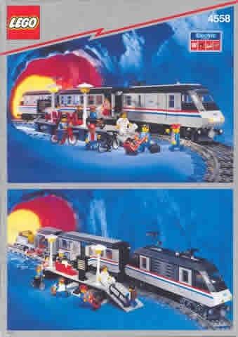INS4558-G 4558 BOUWBESCHRIJVING- Metroliner gebruikt *LOC M1