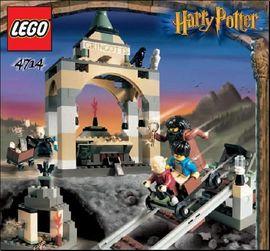 INS4714-G 4714 BOUWBESCHRIJVING- Harry Potter- Gringrott's Bank gebruikt *