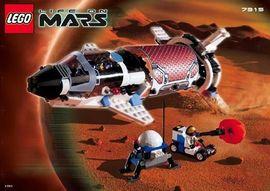 INS7315-G 7315 BOUWBESCHRIJVING- Life on Mars: Solar Explorer gebruikt *