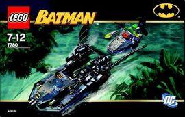 INS7780-G 7780 BOUWBESCHRIJVING- Batman: Hunt for the Killer Croc gebruikt *
