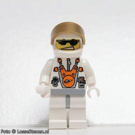 mm004 Mars Mission astronaut helm, zonnebril NIEUW loc