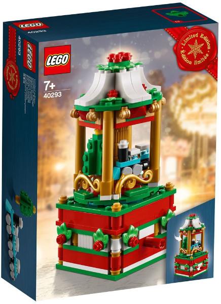 Set 40293 - Holiday: Kerctcarrousel- Nieuw