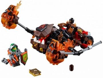 Set 70313-G - Nexo knights: Moltor's Lava Master geen doos I/97%- gebruikt