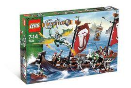 Set 7048 - Kastelen/Ridders: Troll Warship- Nieuw
