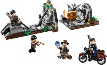 Set 7196-G - Indiana Jones: Chauchilla Cementry Battle D/H/D 97-100%- gebruikt