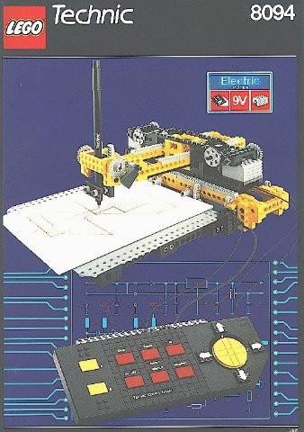 Set 8094 BOUWBESCHRIJVING- Control Center gebruikt loc loc m7