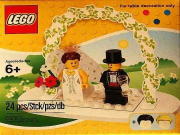 Set 853340 - Holiday: Bruid en bruidegom- Nieuw