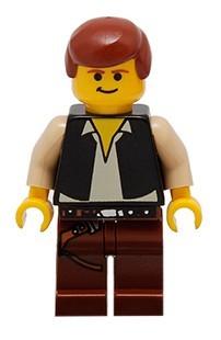 sw0045G Star Wars:Han Solo met bruine benen met Holster Pattern gebruikt loc