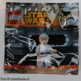 sw633 Star Wars: Admiral Yularen (wordt geleverd in polybag) NIEUW loc