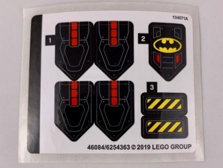 76116stk01 STICKER Batman Batsub and the Underwater Crash NIEUW *0S0000