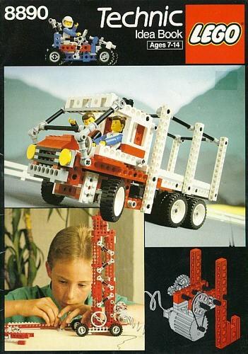 8890 8890 Technic Ideas book gebruikt *