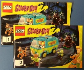 INS 75902 Scooby Doo- The Mystery Machine