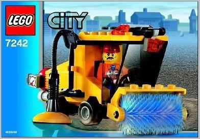 INS7242-G 7242 BOUWBESCHRIJVING- Street Sweeper gebruikt *LOC M3