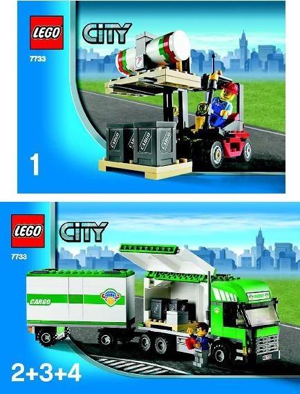 INS7733-G 7733 BOUWBESCHRIJVING- Trick&Forklift gebruikt *LOC M4