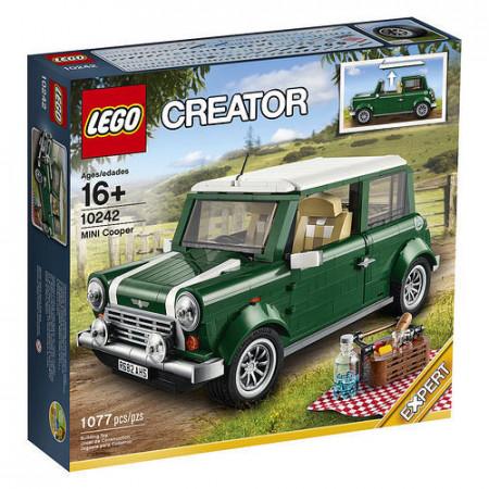 Set 10242 - Mini Cooper (eerste editie, vierkante doos)