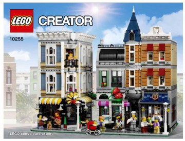Set 10255 BOUWBESCHRIJVING-  Assembly Square  NIEUW loc