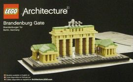 Set 21011 - Architecture: Brandenburg Gate- Nieuw