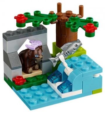Set 41046-G - Friends: Brown Bear's River D/H/97%- gebruikt