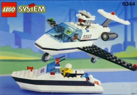 Set 6344 BOUWBESCHRIJVING- Jet Speed Justice Ruimtevaart gebruikt loc LOC M2