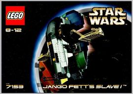 Set 7153 - Star Wars: Jango Fett's Slave- Nieuw