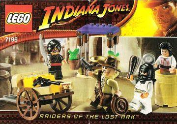 Set 7195-G - Indiana Jones: Ambush in Cairo D/H/C 97-100%- gebruikt