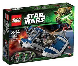 Set 75022 - Star Wars: Mandalorian Speeder- Nieuw