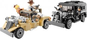 Set 7682-G - Indiana Jones: Shanghai Chase D/H/C 97-100%- gebruikt