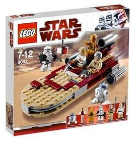 Set 8092 - Star Wars Luke's Landspeeder- Nieuw