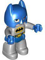 47394pb187 Duplo Figure Lego Ville, Batman, Blue Cowl loc