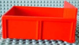 4821ac01-5G DUPLO Laadbak 8 nopen zonder klep gebruikt *