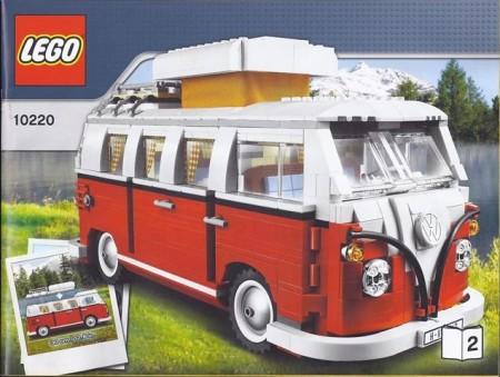 INS10220 10220 BOUWBESCHRIJVING- Volkswagen T1 camper NIEUW *