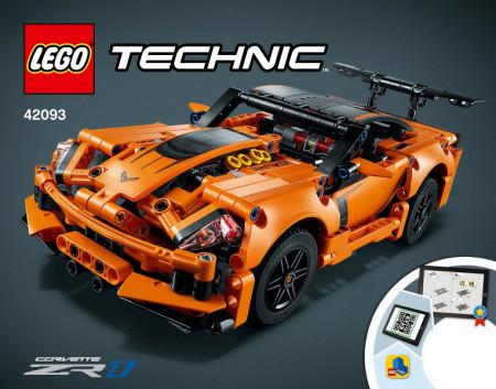 INS42093 42093 BOUWBESCHRIJVING- Chevrolette Corvette NIEUW *