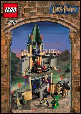 INS4729-G 4729 BOUWBESCHRIJVINGS- Harry Potter- Dumbeldore's kantoor gebruikt *