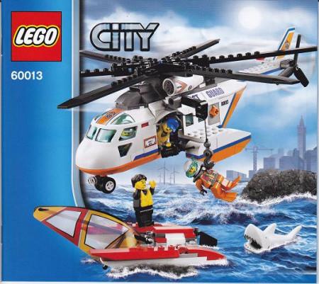 INS60013 60013 BOUWBESCHRIJVING- Coast Guard Helicopter gebruikt *