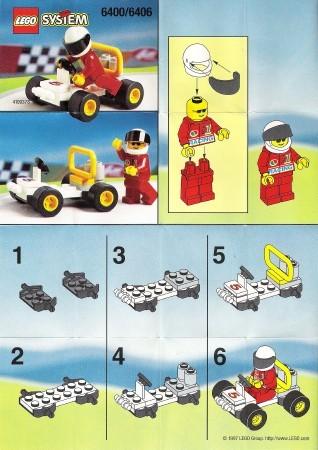 INS6400-G 6400 BOUWBESCHRIJVING- Go-cart gebruikt *