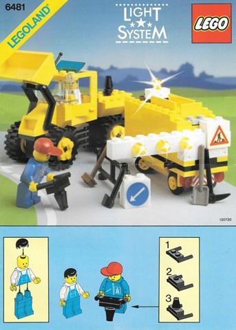 INS6481-G 6481 BOUWBESCHRIJVING- Construction Crew gebruikt *LOC M2
