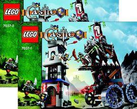 INS7037-G 7037 BOUWBESCHRIJVING- Fantasy Era: Tower Road gebruikt *