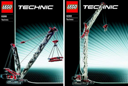 INS8288-G 8288 BOUWBESCHRIJVING- Crawler Crane (2) gebruikt *