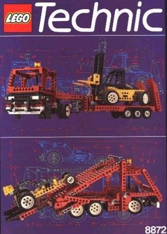 INS8872-G 8872 BOUWBESCHRIJVING- Forklift Transporter gebruikt *