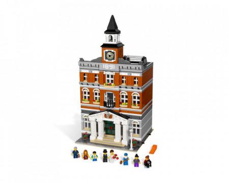 Set 10224-GB Town Hall gebruikt deels gebouwd *B036