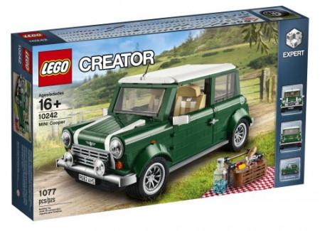 Set 10242 - Mini Cooper (tweede editie, rechthoekige doos)