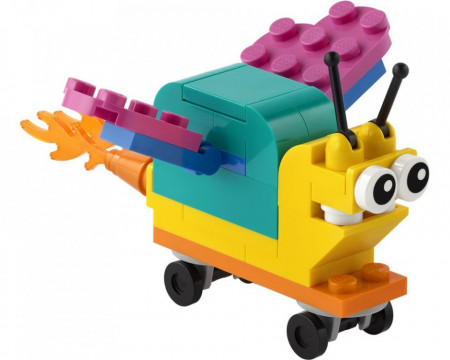 Set 30563 Build your own snail NIEUW
