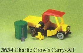 Set 3634-G - Fabuland: Charlie Crow's Carry/all -/-/100%- gebruikt
