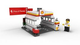 Set 40195 - Promotional: Shell- Shell station- Nieuw