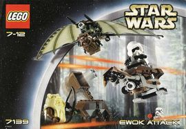 Set 7139 - Star Wars: Ewok Attack- Nieuw